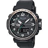 Casio Herren Analog-Digital Quarz Uhr mit Harz Armband PRW-6600Y-1ER