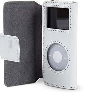 Belkin iPod Folio Ledertasche für iPod nano 2. Generation weiss