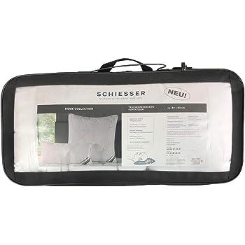 Boxspringkissen Montana 40 x 80 cm Taschenfederkern 32 Pocket Spring Mikrofaser