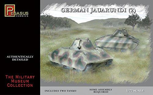 Pegasus PG7606 - 1/72 Deutscher Panzer E Porsche, 2 Bausätze