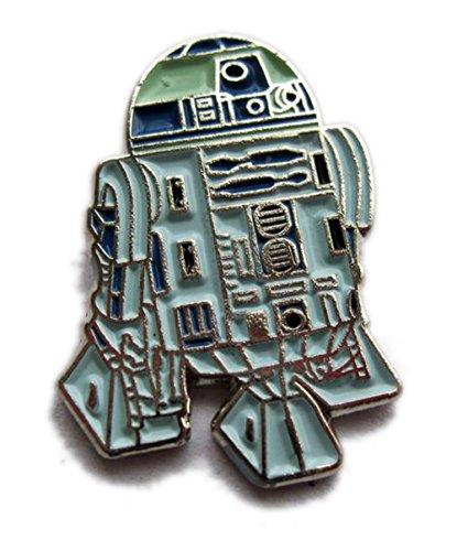 Pin de metal esmaltado, insignia Star Wars R2D2(R2-D2) Robot Droid