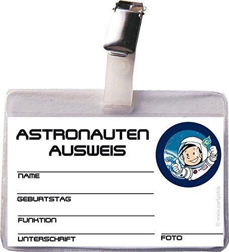 eis Astronaut Flo mit Clip und Hülle (Party Großhandel)