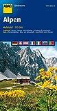 ADAC Länderkarte Alpen 1:750.000 (ADAC Länderkarten)