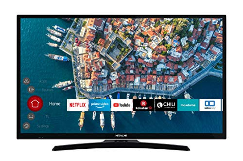 HITACHI F32E4000 81 cm (32 Zoll) Fernseher (Full HD, Smart TV, Prime Video, Works with Alexa, Bluetooth, Triple-Tuner, PVR)