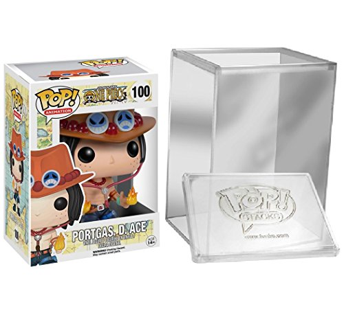 Funko Pop de One Piece - Portgas D Ace + Caja protectora