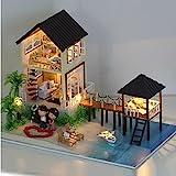 Casa de munecas hechas a mano set kit miniatura Maldivas vacaciones de verano MALDIVAS