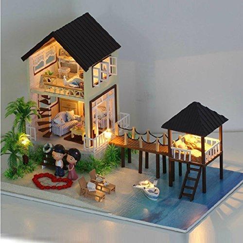 Dollhouse handmade kit set miniature Maldives summer holiday MALDIVES