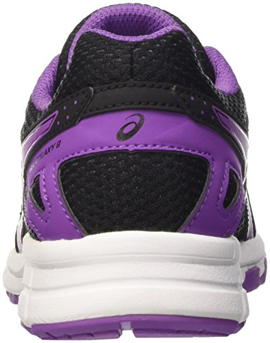 9 Baskets Asics Black Gel Mixte Galaxy Basses GS White enfant Noir Orchid p6pEarqnxw