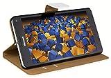 mumbi Tasche im Bookstyle für Microsoft Lumia 950 XL Tasche Weiss
