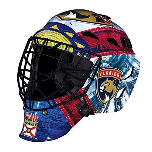 Franklin Sports Eishockey-Sammelartikel Torwart-Helm Mini, Design: Logo Einer NHL-Mannschaft, Unisex, 7784F18, Florida Panthers, Einheitsgröße
