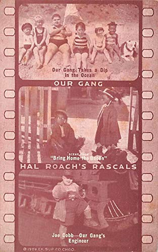 Our Gang, Hal Roach's Rascals Movie Star Actor Actress Film Star Postcard, Old Vintage Antique Post Card Unused Hals-gang