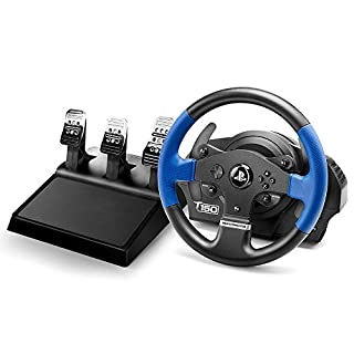 Thrustmaster T150 RS PRO (Lenkrad inkl. 3-Pedalset, Force Feedback, 270° - 1080°, PS4 / PS3 / PC) (B01LX4V2YV)   Amazon Products