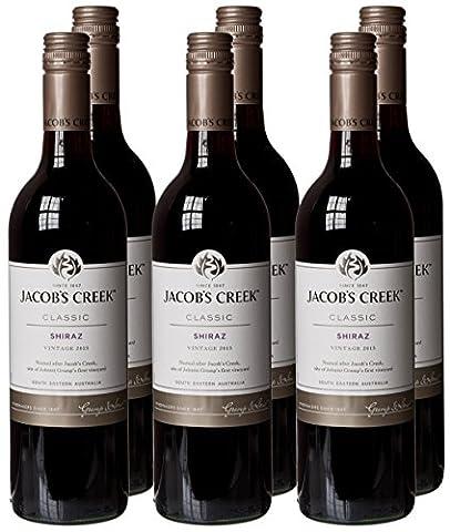 Jacobs Creek Classic Shiraz Wine, 75 cl - Case of 6