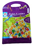 Anker Kids Create Magnetic Snakes and Ladders Game, Plastic, Assorted Colour - Anker - amazon.co.uk