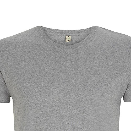 EarthPositive - Men's Slim Fit Jersey T-Shirt White