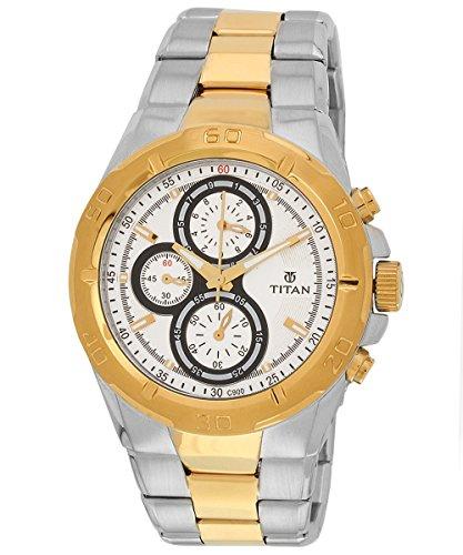 51Ld4ITIVvL - Titan 9308BM01 Octane watch