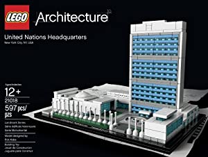 Lego Architecture United Nations Headquarter 21018