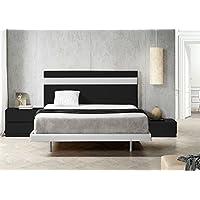 SUENOSZZZ - Cabecero Ibiza. Color Negro/Blanco (Camas 90) 100X120 Cms