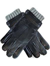 Champion Mens Luxury Soft Leather & Knitted Cuff Warm Smart Winter Dress Glove