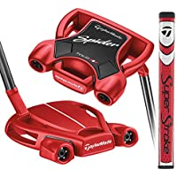 Taylormade N1542626 Putter, Hombre, Rojo, 34