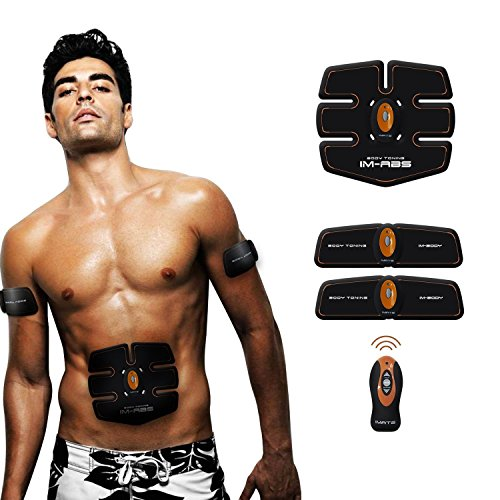 Abdominal Muscle Trainer Ab Toning Belt, Muscle Toner Ab Belts Core Training...