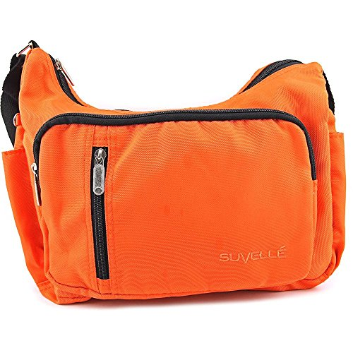 Suvelle Slouch Everywhere Everyday Multi Pocket Organizer Donna (arancione)