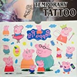 #8: PARTY PROPZ Peppa Pig Child Temporary Tattoo / Body Art Tattoo/ Stickers