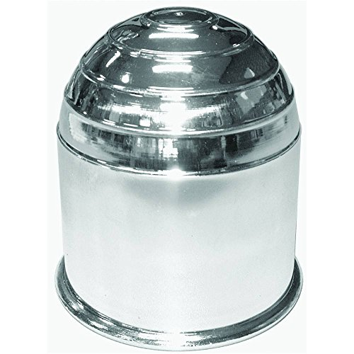 Carpoint 0410102 Transport et Rangement Cache-Rotule Non-Emballé, Chrome