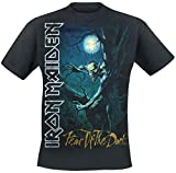 Iron Maiden Fear Of The Dark Camiseta Negro L