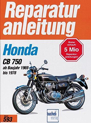 Honda CB 750 K0 / K1 / K2 / K6 / K7 / F1 / F2 (ab 1969-1978) (Reparaturanleitungen)
