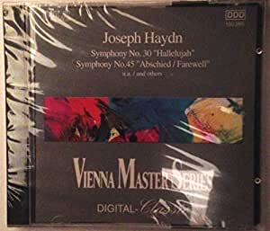 "Joseph Haydn Symphony No. 30 ""Hallelujah"" Symphony No. 45 / and others"