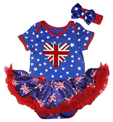 Petitebelle Baby Mädchen (0-24 Monate) Body blau blau Gr. XL, blau