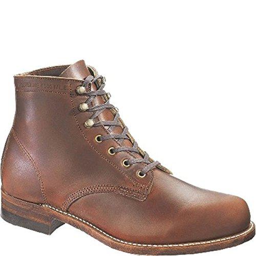 46 MilePremium BrownTaille 1000 Evans Wolverine boots CBQdthrsx