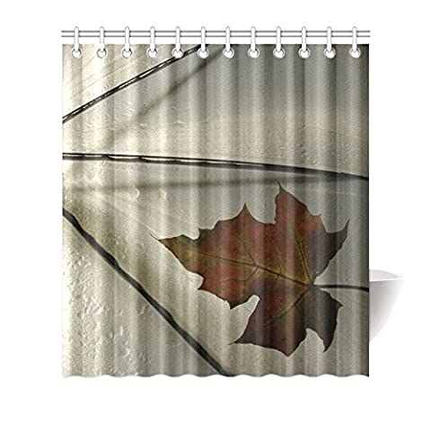 Custom Parapluie (1) Rideau de douche 152,4cm (L) x 182,9cm (H) souple étanche Tissu de polyester, un seul côté d'impression (12trous), Polyester, Umbrella(2),