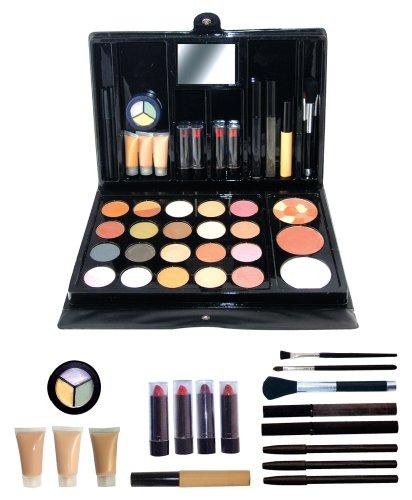 Fantasea Collection de produits cosmétiques haut de gamme (Fards à paupières, brillant à lèvres, pinceaux, fards à joues, crayons, poudres, miroir, mascaras, rouges à lèvres, et plus)