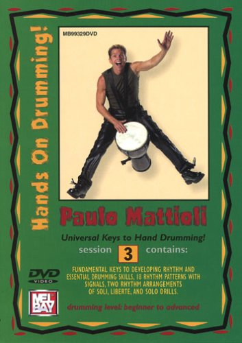 HANDS ON DRUMMING SESSION 3 REINO UNIDO DVD
