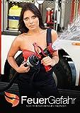 FeuerGefahr – Sexy Feuerwehrfrauen (Wandkalender 2015 DIN A4 hoch): Leicht bekleidet auf der Feuerwache (Monatskalender, 14 Seiten)