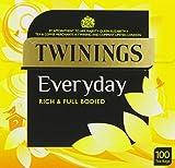 Twinings Everyday 100 Tea Bags (Pack of 4)