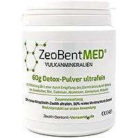 ZeoBent MED Detox-Pulver ultrafein 60 g, CE zertifiziertes Medizinprodukt preisvergleich bei billige-tabletten.eu