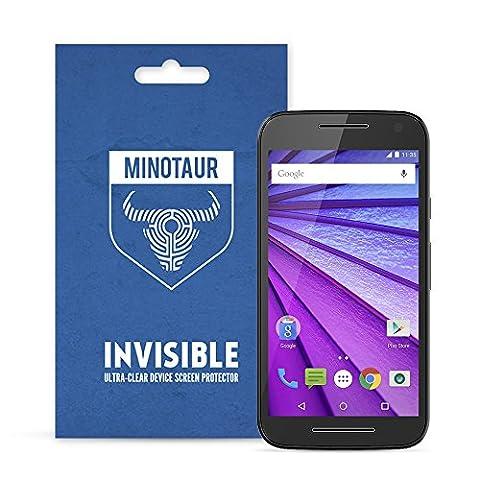 Motorola Moto G 3rd Generation (2015) Screen Protector Pack, Super Clear by Minotaur (6 Screen Protectors)