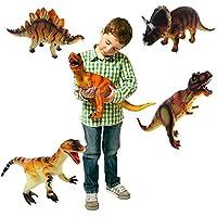 Grandes Dinosaurios surtidos * 6 * Plásticas Animales para niños Figuras de juguete [Toy]