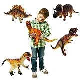 Grandi dinosauri assortiti * 6 * plastica Animali per bambini TOY figure [Toy]