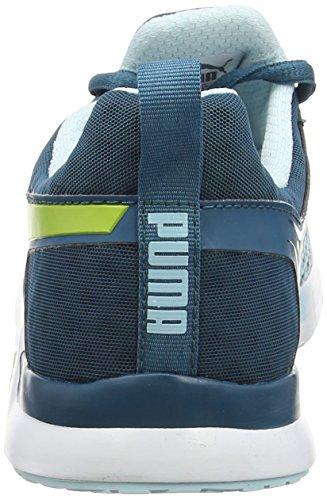 Scarpe Da Donna Puma Pulse Xt Geo Indoor Blu (blu Corallo-sulfur Primavera 10)