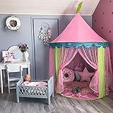 Prinzessin Rosa Spielzelt Kinder Spielhaus