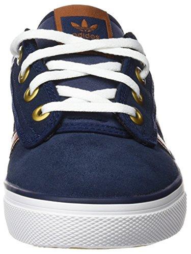 adidas Kiel, Chaussures de skate garçon Bleu - Azul (Maruni / Nocolo / Ftwbla)