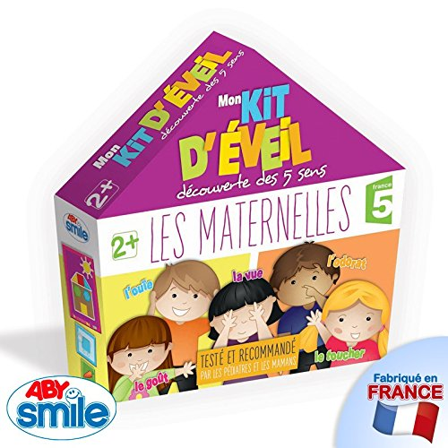 Jeu éducatif Les Maternelles Mon kit d'éveil découverte des 5 sens