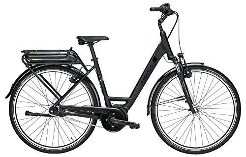 Damen E-Bike 28 Zoll schwarz - Pegasus Solero E7F Plus Pedelec - Bosch Active Line Plus Mittelmotor, Akku 400Wh