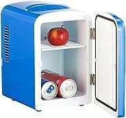 Mini réfrigérateur 2 en 1 avec prise 12/230 V - bleu [Rosenstein & Sö