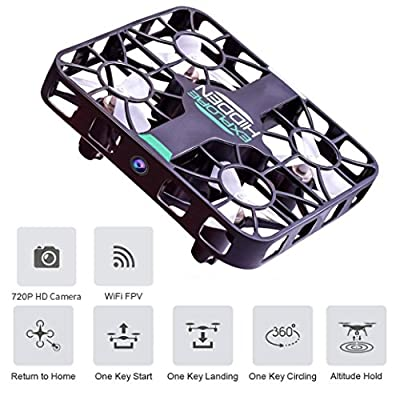 RC Mini Drone, Helicopter RC Quadcopter Pocket Radio Remote Control UFO With HD Camera [Easy to Fly for Beginner] Gift For Kids/ Adult by Mounter