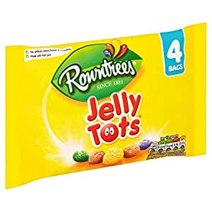 Rowntree's Jelly Tots 4 Pack 112G
